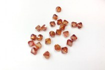 Crystal Chili Pepper Swarovski Crystal Bicone Beads 5301/5328
