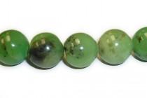 Chinese Chrysoprase (Natural) A Grade Round Gemstone Beads