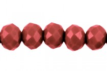 Red Cherry Chinese Crystal Rondelle Glass Beads