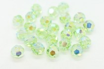 Chrysolite AB2x 5000 Swarovski Elements Crystal Round Bead
