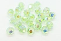 Chrysolite AB2x Swarovski Crystal Round Beads 5000 - Factory Pack Quantity