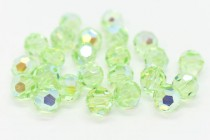Chrysolite AB 5000 Swarovski Elements Crystal Round Bead