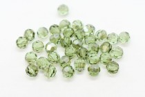 Chrysolite Satin Swarovski Crystal Round Beads 5000
