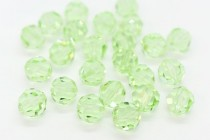 Chrysolite 5000 Swarovski Elements Crystal Round Bead
