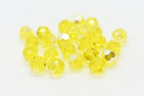 Citrine AB 5000 Swarovski Elements Crystal Round Bead