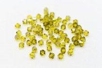 Citrine Satin 5301/5328 Swarovski Elements Crystal Bicone Bead