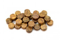 Elephant Skin Jasper (Natural) Coin Gemstone Beads