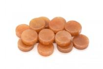 Red Aventurine (Natural) Coin Gemstone Beads