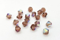 Colorado Topaz AB 5301/5328 Swarovski Elements Crystal Bicone Bead