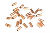 Copper Tube Spacer Bead - 2x4mm
