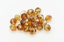 Crystal Copper Swarovski Crystal Round Beads 5000