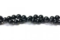 Coral,Black, Dyed, Round Beads