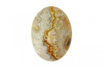 Crazy Lace Agate (Natural) A Grade Oval Cabochon