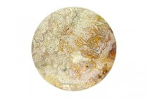 Crazy Lace Agate (Natural) A Grade Round Cabochon