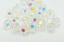 Crystal AB2x Swarovski Crystal Round Beads 5000 - Factory Pack Quantity