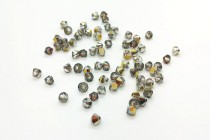 Crystal Cathedral 5301/5328 Swarovski ®: Crystal with third-party coating,Bicone Bead