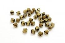 Crystal Dorado 2X Swarovski Crystal Bicone Beads 5301 - Factory Pack Quantity