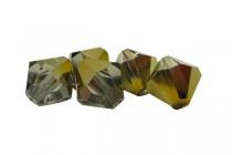 Crystal Dorado Swarovski Crystal Bicone Beads 5301/5328