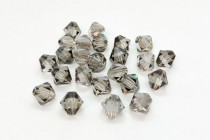 Crystal Satin Swarovski Crystal Bicone Beads 5301 - Factory Pack Quantity