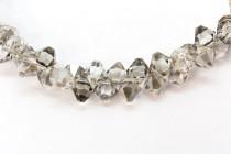 Crystal Satin Swarovski Crystal Top Drilled Bicone Pendants 6301