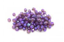Cyclamen Opal Shimmer 2x Swarovski Crystal Bicone Beads 5328
