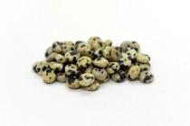Dalmatian Jasper (Natural) Rondelle Gemstone Beads