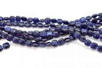 Dark Blue  Fiber Optic (Cats Eye) Pillow Beads