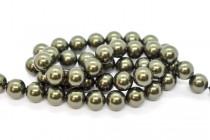 Crystal Dark Green - Swarovski Round Pearls 5810/5811