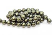 Crystal Dark Green - Swarovski Round Pearls 5810 - Factory Pack Quantity