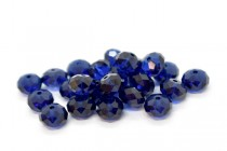 Dark Indigo 5040 Swarovski Crystal Elements Rondelle Beads