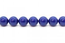 Crystal Dark Lapis - Swarovski Round Pearls 5810