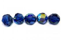 Dark Sapphire AB 5000 Swarovski Elements Crystal Round Bead