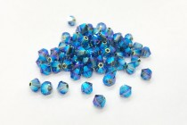 Denim Blue AB2X 5301/5328 Swarovski Crystal Bicone