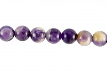 Amethyst,Dog Tooth / Cape, (Natural) A Grade Round Gemstone Beads