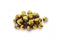 Crystal Dorado AB2x Swarovski Crystal Round Beads 5000