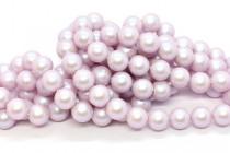 Crystal Iridescent Dreamy Rose - Swarovski Round Pearls 5810