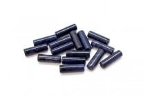 Dumortierite (Natural) Tube Gemstone Beads
