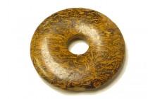 Elephant Skin Jasper ( Natural ) A grade Donut Pendant