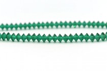 Bead, Swarovski crystals ,Emerald, 5mm faceted Flat Bicone Rondelle Spacer,5305.