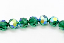 Emerald AB 5000 Swarovski Elements Crystal Round Bead