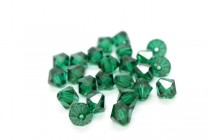 Emerald 5301/5328 Swarovski Elements Crystal Bicone Bead