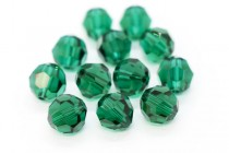 Emerald 5000 Swarovski Elements Crystal Round Bead