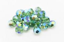 Erinite AB2x Swarovski Crystal Round Beads 5000 - Factory Pack Quantity