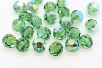 Erinite AB 5000 Swarovski Elements Crystal Round Beads