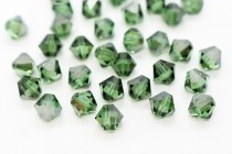 Erinite Satin Swarovski Crystal Bicone Beads 5301 - Factory Pack Quantity