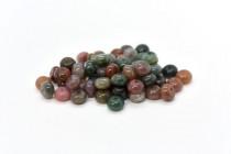 Fancy Jasper (Natural) Rondelle Gemstone Beads