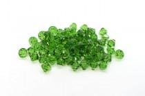 Fern Green Swarovski Crystal Top Drilled Bicone Pendants 6301