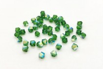 Fern Green AB 5301/5328 Swarovski Elements Crystal Bicone Bead