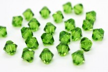 Fern Green 5301/5328 Swarovski Elements Crystal Bicone Bead
