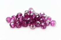 Fuchsia Satin Swarovski Crystal Round Beads 5000 - Factory Pack